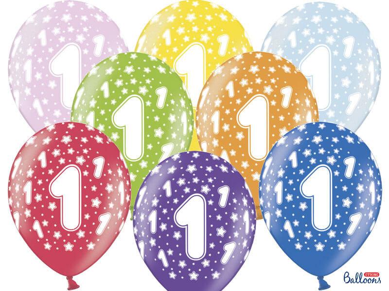 balon na pierwsze urodziny