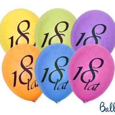 balony na 18 lat