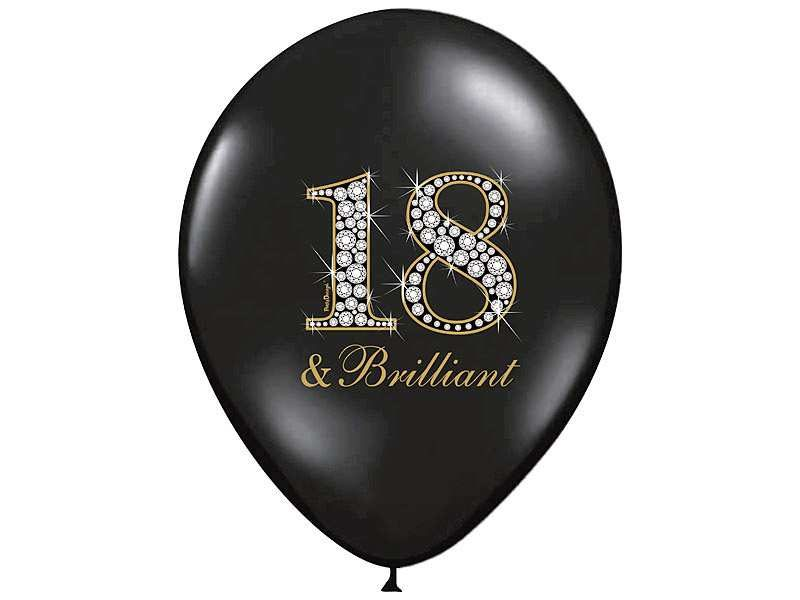 balon na osiemnastkę