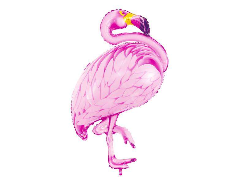 balon flaming różowy