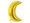 balon foliowy księżyc złoty