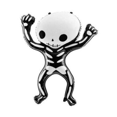 balon szkielet na Halloween