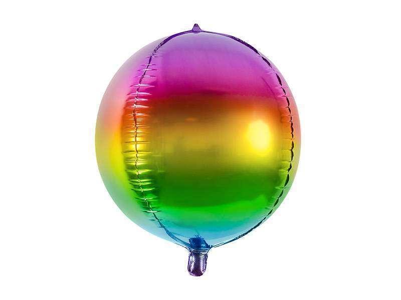 balon foliowy tęczowa kula