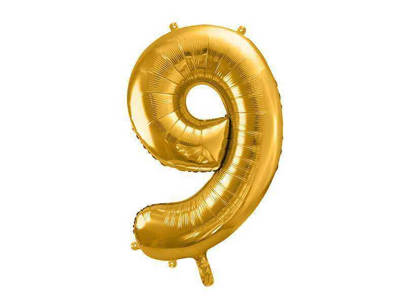 złota cyfra 9
