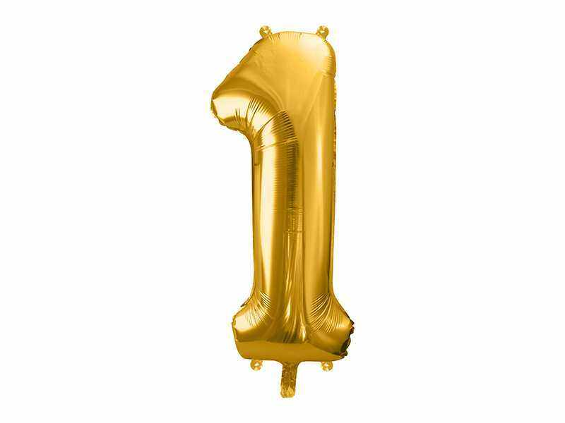 złota cyfra 1