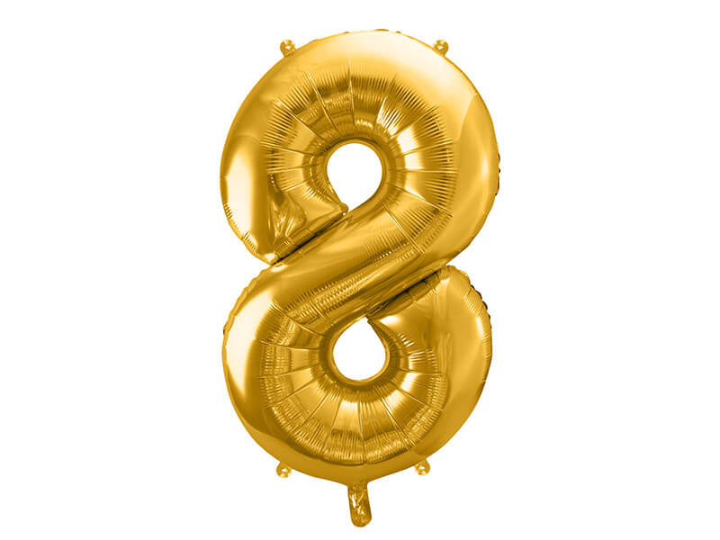 złota cyfra 8