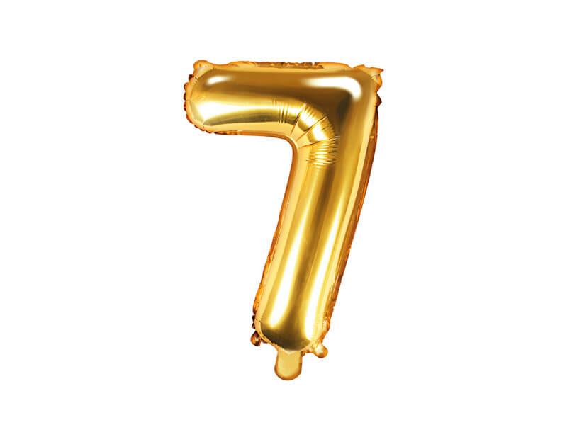 złota cyfra 7