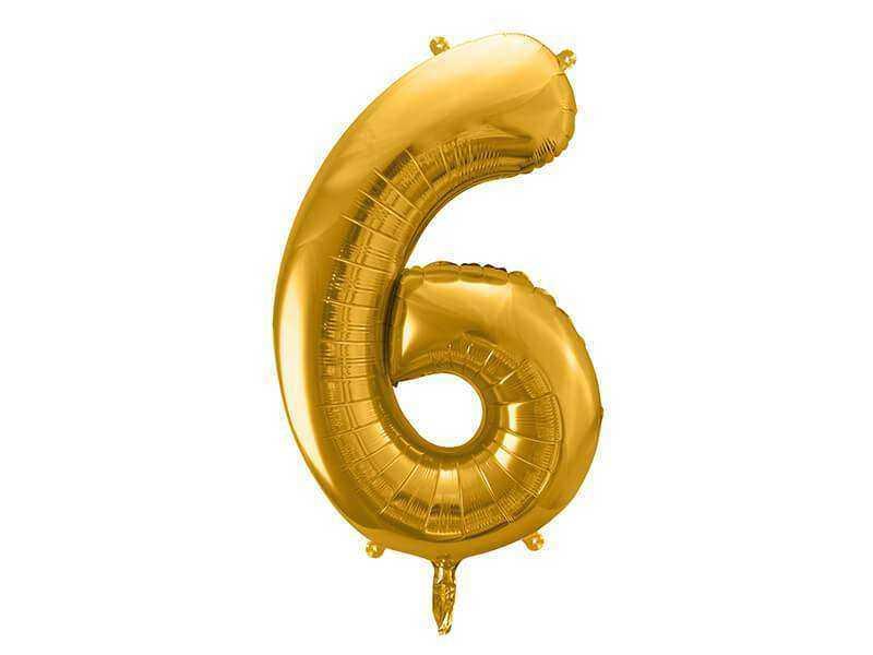 złota cyfra 6