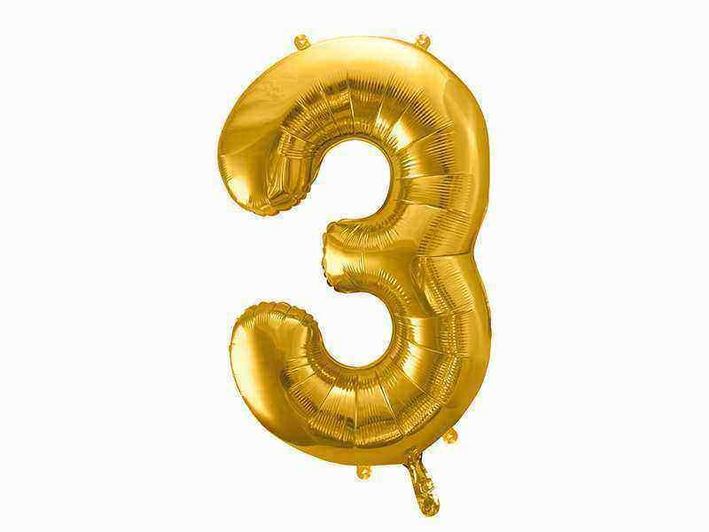 złota cyfra 3