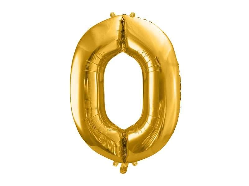 balon cyfra 0