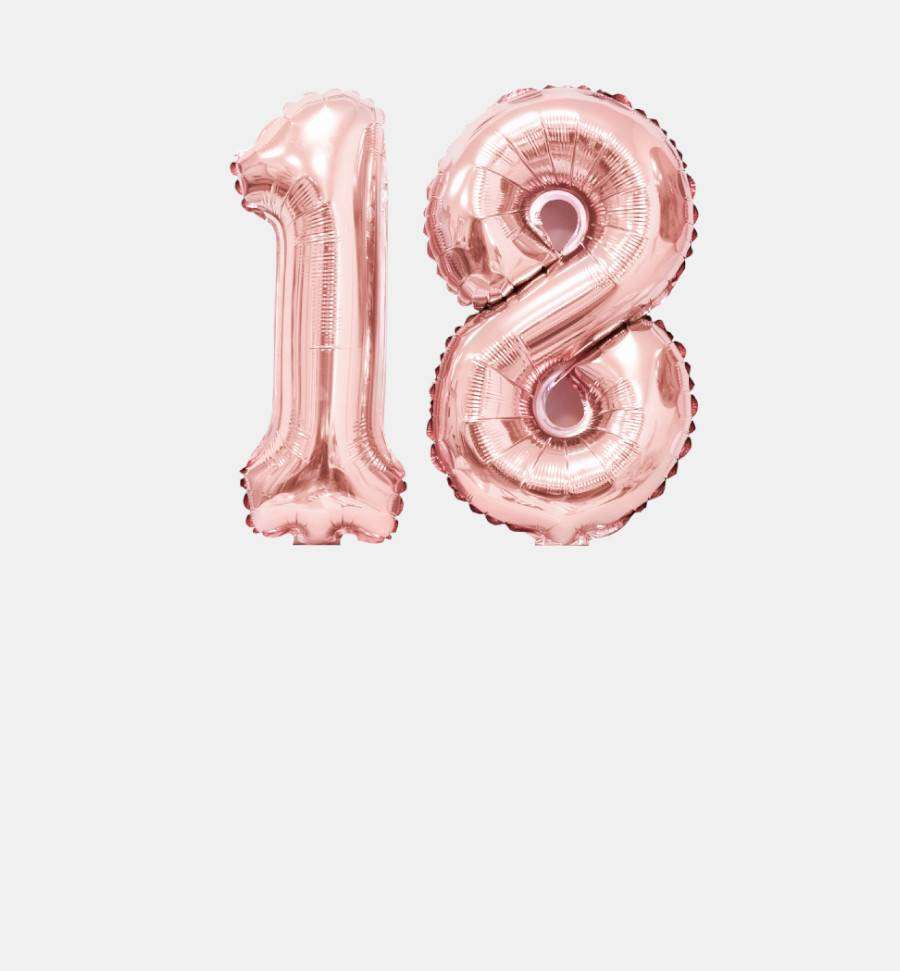 Balony cyfry i liczby