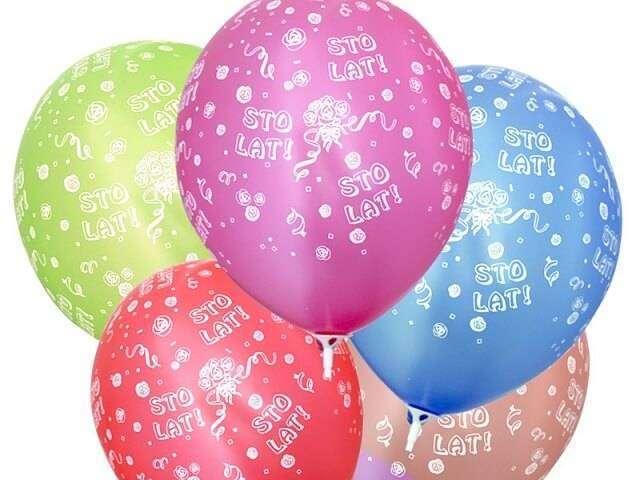 balony sto lat