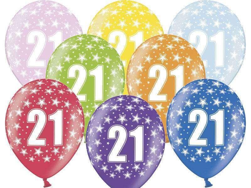 balon nadruk 21