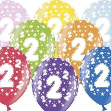 balon na 2 urodziny