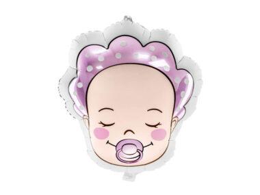 foliowy balon bobas dziewczynka