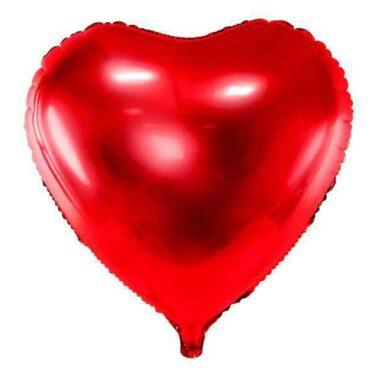 balon foliowy serce czerwony 61cm