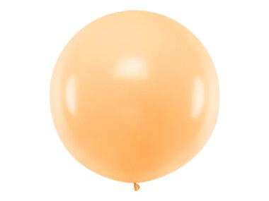 olbrzymi balon jasnopomarańczowy
