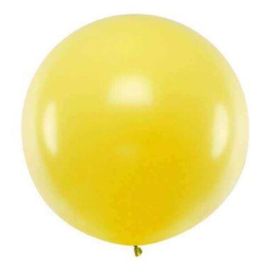 olbrzymi balon żółty
