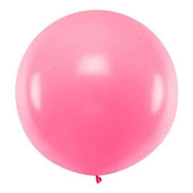 olbrzymi balon różowy 1m