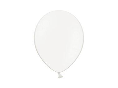 balon pastelowy biały