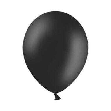 balon pastelowy czarny 36cm