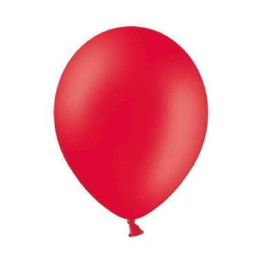 balon pastelowy czerwony