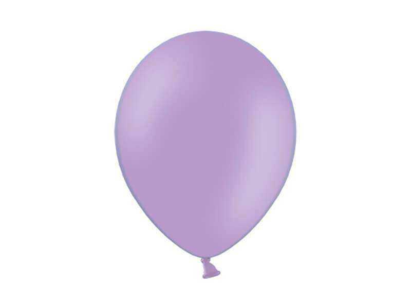 balon fioletowy pastelowy 36 cm
