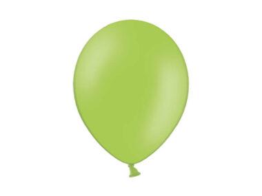 balony pastelowy zielony