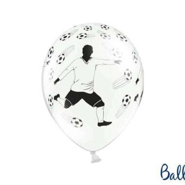 balon piłkarz i piłki