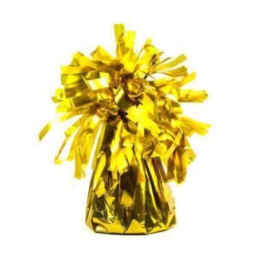 ciężarek do balonów złoty