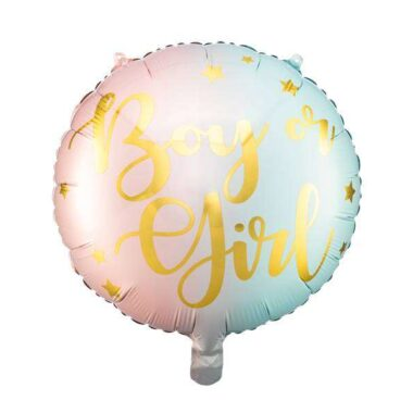 balony foliowy chłopak czy dzieczynka